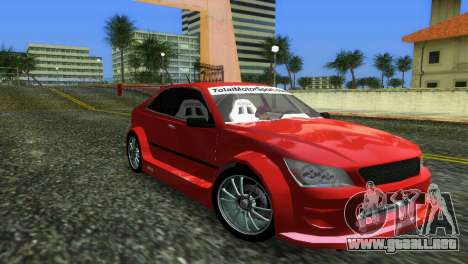 Lexus IS200 para GTA Vice City