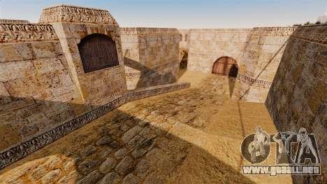 Ubicación del counter-strike De_Dust2 para GTA 4 sexto de pantalla