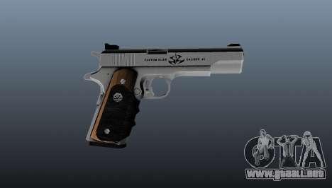 La pistola semiautomática AMT Hardballer para GTA 4 tercera pantalla