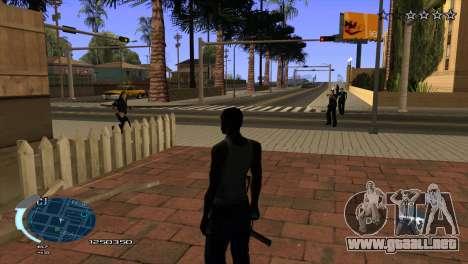 C-HUD Assasins Creed 3 III para GTA San Andreas tercera pantalla