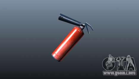 Extintor de fuego para GTA 4 segundos de pantalla