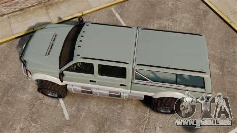 GTA V Vapid Sandking XL 4500 para GTA 4 visión correcta