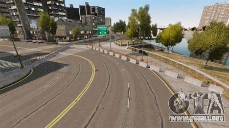 Liberty City Race Track para GTA 4 segundos de pantalla