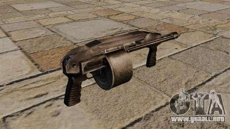 Pistola de cañón liso Protecta para GTA 4 segundos de pantalla