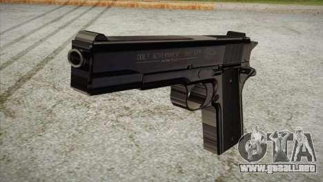 Colt Government 1911 para GTA San Andreas