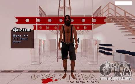 HD Pak pieles vagabundos para GTA San Andreas tercera pantalla