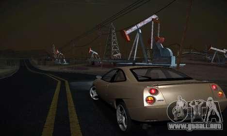 Fiat Coupe para GTA San Andreas vista posterior izquierda