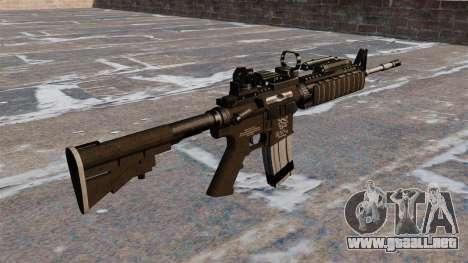 Automático carabina M4 Red Dot Black Edition para GTA 4 segundos de pantalla