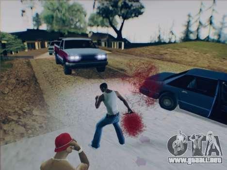 Battlefield 2142 Knife para GTA San Andreas quinta pantalla