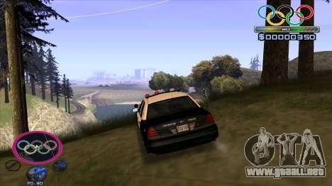 HUD Olympiade para GTA San Andreas