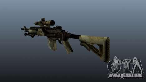 Rifle de francotirador M21 Mk14 v7 para GTA 4 segundos de pantalla