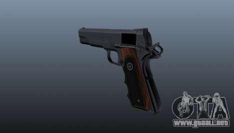 Pistola semiautomática Hitman Silverballer para GTA 4 segundos de pantalla