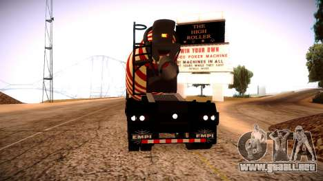 Cement Mixer para GTA San Andreas left