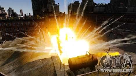 Nuevos efectos de la explosión y el fuego para GTA 4 tercera pantalla
