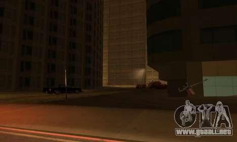 Terminó la construcción en San Fierro V1 para GTA San Andreas quinta pantalla