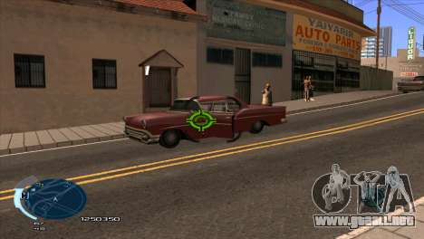 C-HUD Assasins Creed 3 III para GTA San Andreas segunda pantalla
