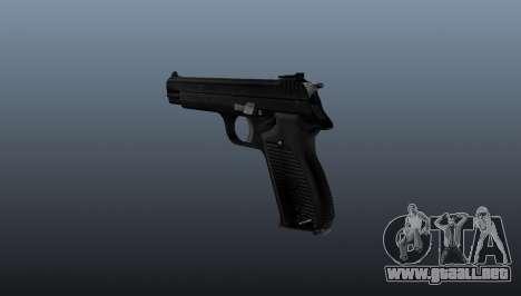 Pistola semiautomática SIG P210 para GTA 4 segundos de pantalla