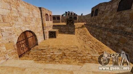 Ubicación del counter-strike De_Dust2 para GTA 4 quinta pantalla