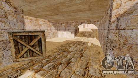 Ubicación del counter-strike De_Dust2 para GTA 4 segundos de pantalla