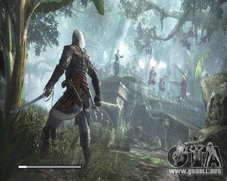 Pantallas de carga en Assassins Creed para GTA San Andreas sucesivamente de pantalla