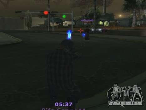 Color Mod para GTA San Andreas tercera pantalla