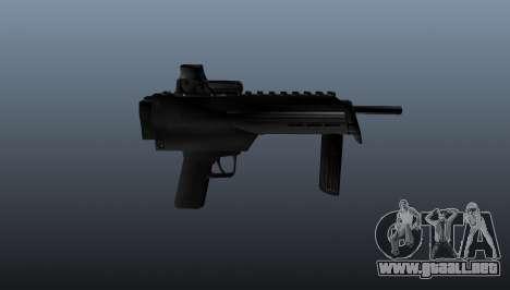 Subfusil ametrallador en Half-Life para GTA 4 tercera pantalla