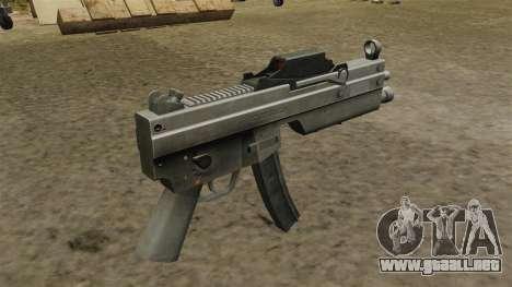 Subfusil MP5 actualizado para GTA 4 segundos de pantalla