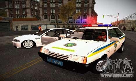 VAZ 2108 Ucrania REC para GTA San Andreas