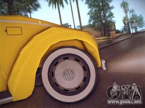 Volkswagen Käfer para visión interna GTA San Andreas
