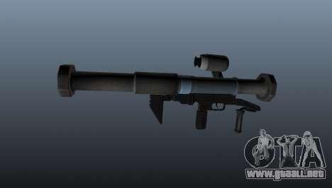 Lanzador de granadas antitanque todos lamiendo s para GTA 4 tercera pantalla