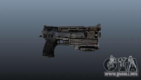 pistola de 10 mm para GTA 4 tercera pantalla