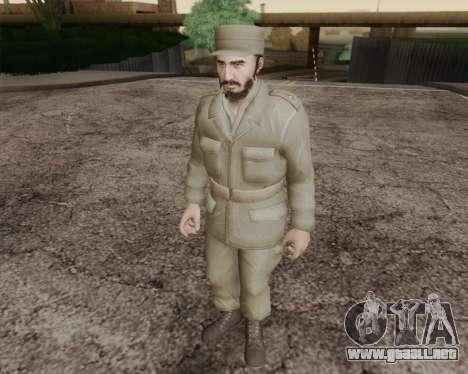 Fidel Castro para GTA San Andreas