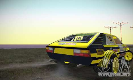 FSO Polonez 2500 Racing 1978 para la visión correcta GTA San Andreas