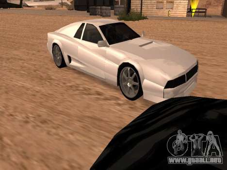 Sheetah Restyle para GTA San Andreas interior