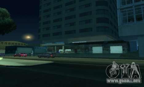 Terminó la construcción en San Fierro V1 para GTA San Andreas octavo de pantalla