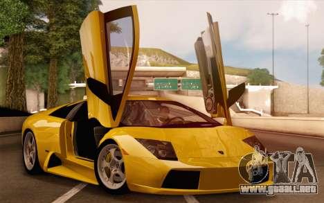 2005 Lamborghini Murciélago para el motor de GTA San Andreas