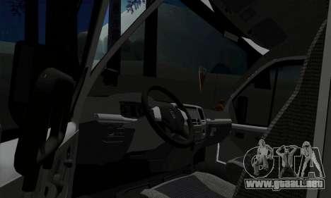 Empresas gacela 33023 para GTA San Andreas vista hacia atrás