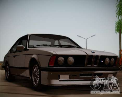 BMW E24 M635 1984 para GTA San Andreas left
