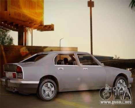 GTA III Kuruma para GTA San Andreas left