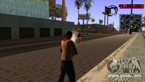 C-HUD Project Capture 6 para GTA San Andreas tercera pantalla