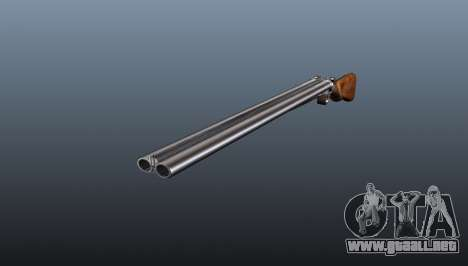 Rifle de caza TOZ dos cañones BM-16 para GTA 4