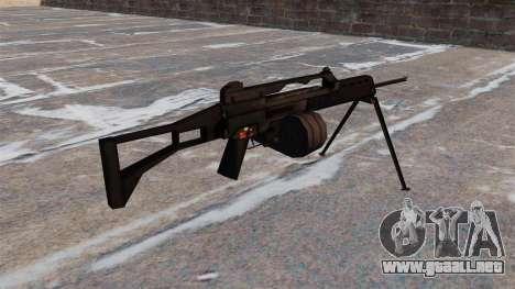 Rifle de asalto MG36 para GTA 4 segundos de pantalla