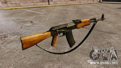 AK-47 v5 para GTA 4 segundos de pantalla