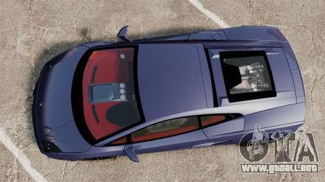Lamborghini Gallardo 2013 para GTA 4 visión correcta