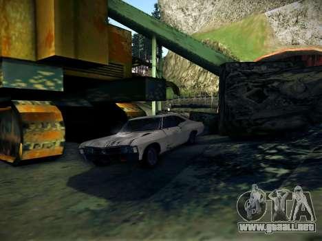 Playable ENB by Pablo Rosetti para GTA San Andreas segunda pantalla