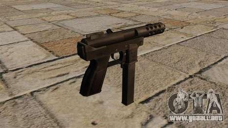 Intratec TEC-auto-carga pistola DC9 para GTA 4 segundos de pantalla