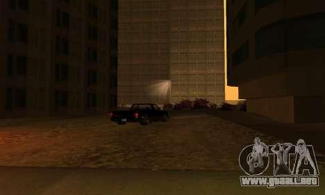 Terminó la construcción en San Fierro V1 para GTA San Andreas sucesivamente de pantalla
