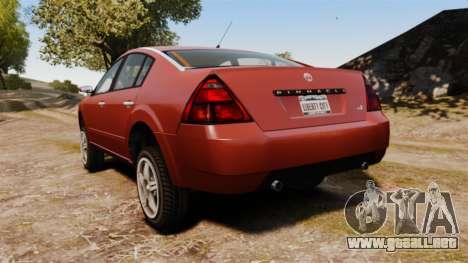 Pinnacle Off-road para GTA 4 Vista posterior izquierda