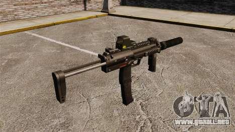 Ametralladora HK MP7 Sopmod para GTA 4 segundos de pantalla