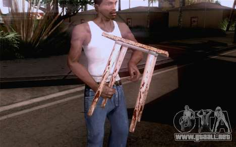 Taburete para GTA San Andreas segunda pantalla